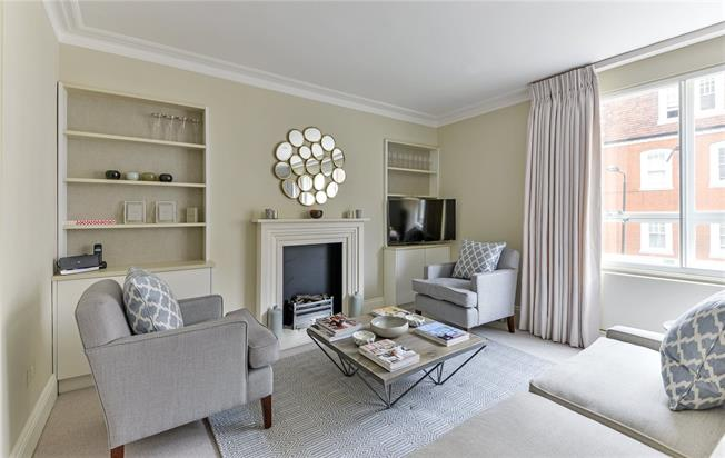 Asking Price £1,495,000, 2 Bedroom Flat For Sale in London, SW1W