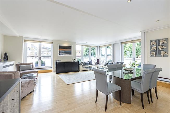 Asking Price £4,250,000, 3 Bedroom Flat For Sale in London, SW1W