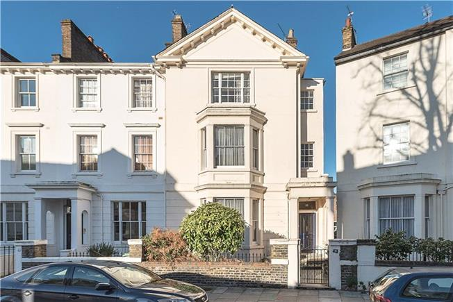 Asking Price £4,450,000, 5 Bedroom Terraced House For Sale in London, NW1