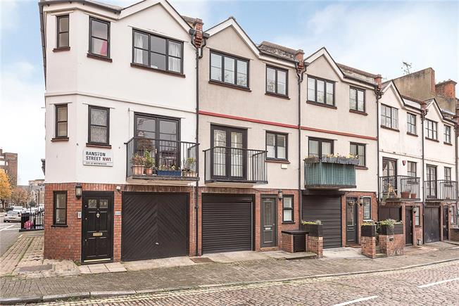 Asking Price £1,185,000, 3 Bedroom Terraced House For Sale in London, NW1