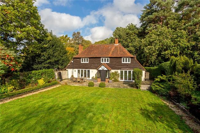 Offers in excess of £1,350,000, 4 Bedroom Detached House For Sale in Surrey, GU24