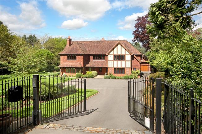 Guide Price £3,150,000, 6 Bedroom Detached House For Sale in Ascot, SL5