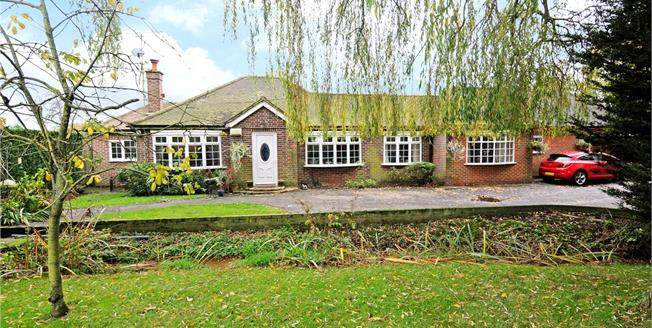 Guide Price £945,000, 5 Bedroom Bungalow For Sale in Chobham, GU24