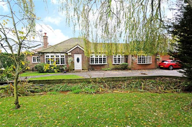 Guide Price £1,000,000, 5 Bedroom Bungalow For Sale in Chobham, GU24