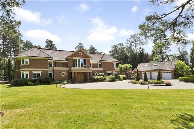 Asking Price £4,950,000, 5 Bedroom Detached House For Sale in Virginia Water, Berkshire, SL5