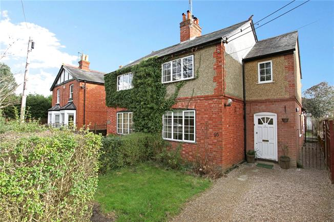 Guide Price £490,000, 3 Bedroom Semi Detached House For Sale in Berkshire, SL5