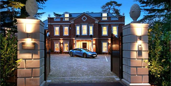Guide Price £4,500,000, 5 Bedroom Detached House For Sale in Berkshire, SL5