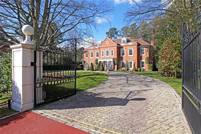 Asking Price £4,850,000, 6 Bedroom Detached House For Sale in Ascot, SL5