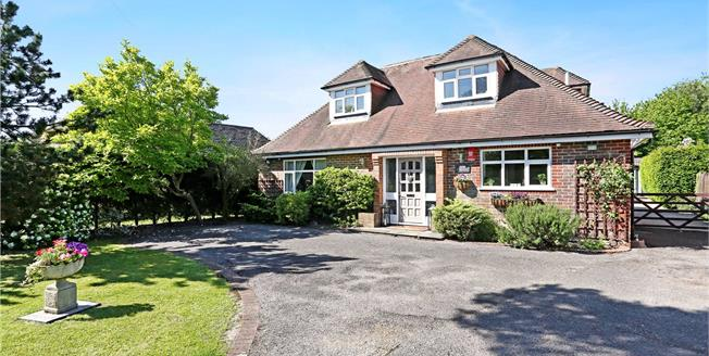 Guide Price £899,950, 4 Bedroom Detached House For Sale in Virginia Water, GU25