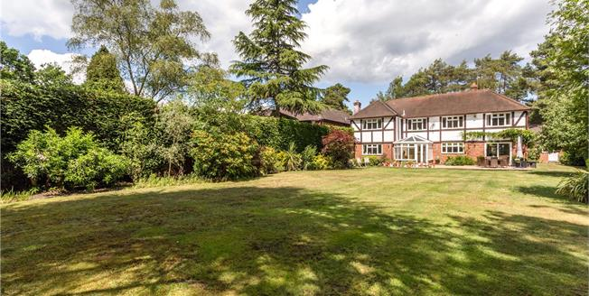 Asking Price £1,950,000, 5 Bedroom Detached House For Sale in Ascot, Berkshire, SL5