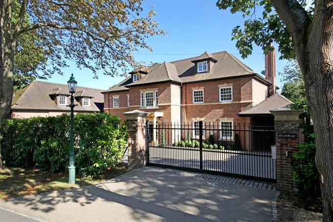Asking Price £3,495,000, 6 Bedroom Detached House For Sale in Virginia Water, GU25
