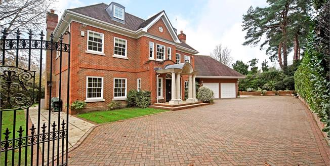 Guide Price £2,700,000, 6 Bedroom Detached House For Sale in Virginia Water, GU25