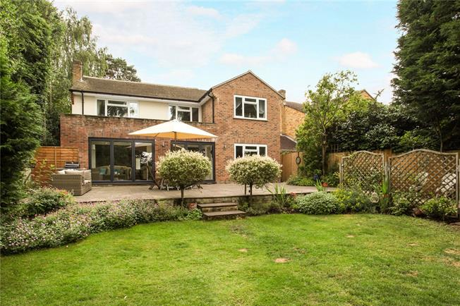 Guide Price £945,000, 5 Bedroom Detached House For Sale in Surrey, GU18