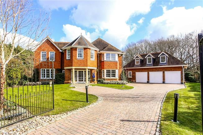Guide Price £1,795,000, 5 Bedroom Detached House For Sale in Surrey, GU24