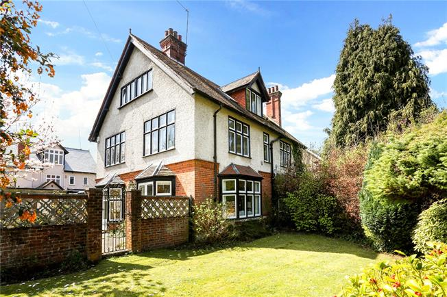 Guide Price £850,000, 4 Bedroom Semi Detached House For Sale in Ascot, SL5