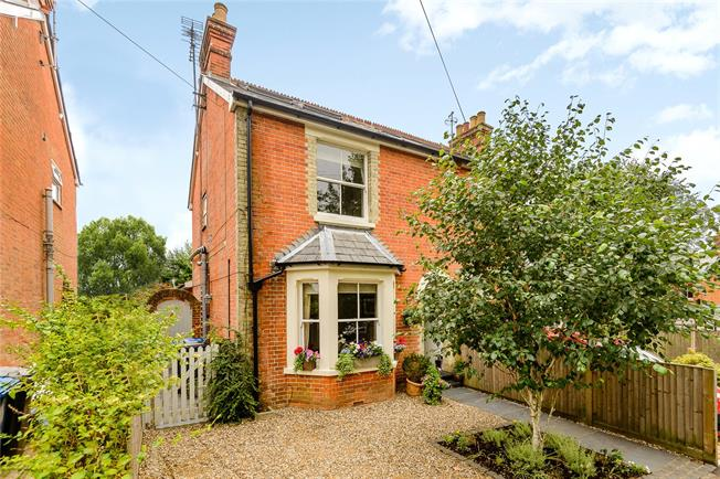 Guide Price £775,000, 4 Bedroom Semi Detached House For Sale in Berkshire, SL5
