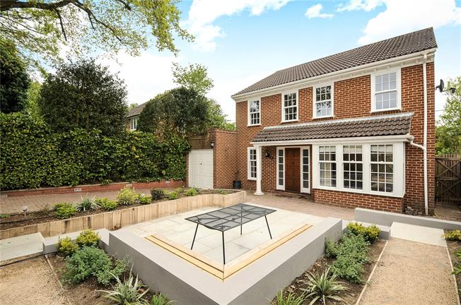 Offers in excess of £600,000, 4 Bedroom Detached House For Sale in Surrey, GU20