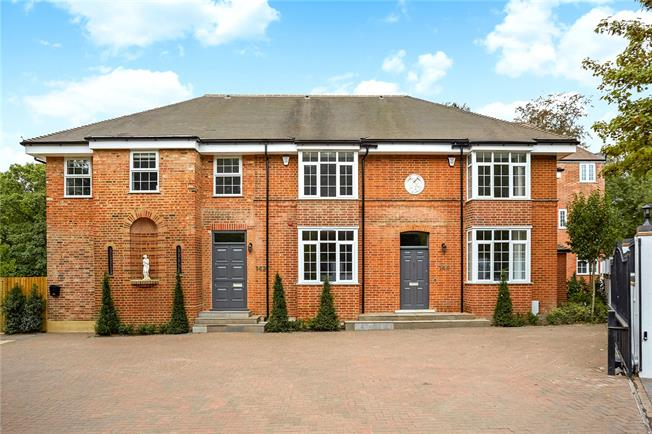 Guide Price £1,195,000, 5 Bedroom Terraced House For Sale in Berkshire, SL5