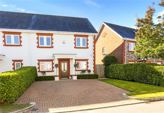 Guide Price £700,000, 3 Bedroom End of Terrace House For Sale in Woking, Surrey, GU24