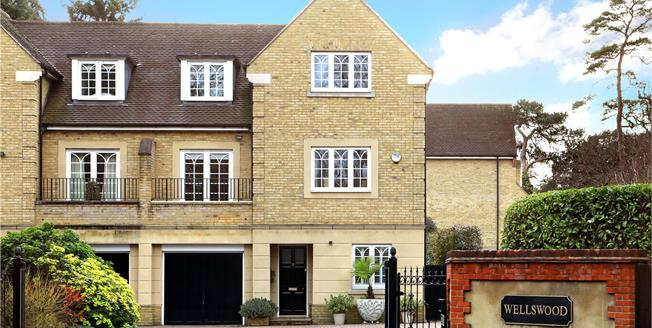 Guide Price £1,195,000, 4 Bedroom Semi Detached House For Sale in Ascot, Berkshire, SL5