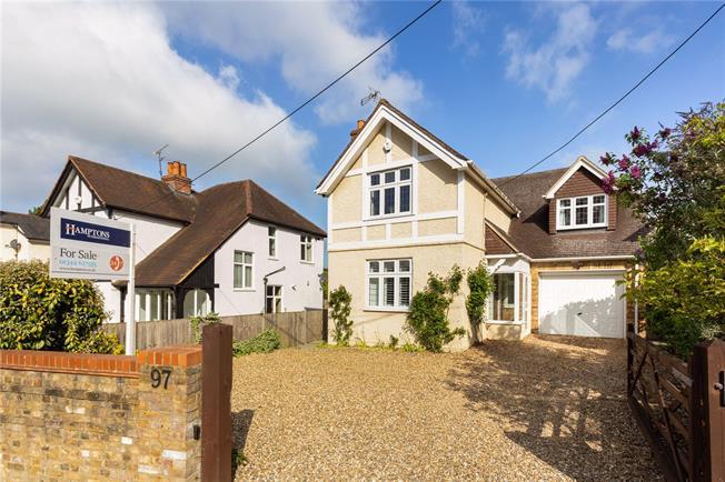 Asking Price £950,000, 4 Bedroom Detached House For Sale in Windlesham, GU20
