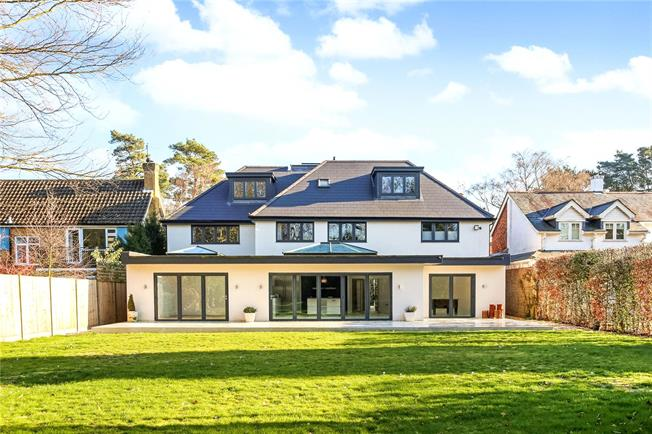 Offers in excess of £1,900,000, 5 Bedroom Detached House For Sale in Berkshire, SL5