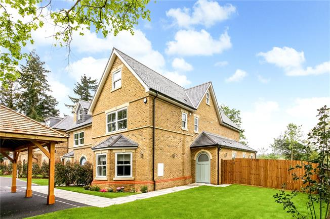 Offers in excess of £1,550,000, 4 Bedroom Semi Detached House For Sale in Ascot, Berkshire, SL5