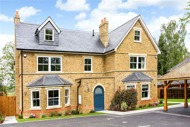 Guide Price £1,500,000, 5 Bedroom Semi Detached House For Sale in Berkshire, SL5