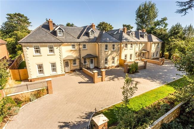 Guide Price £1,395,000, 5 Bedroom Semi Detached House For Sale in Egham, Surrey, TW20