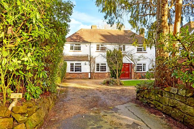 Asking Price £1,298,000, 5 Bedroom Detached House For Sale in Tunbridge Wells, TN2