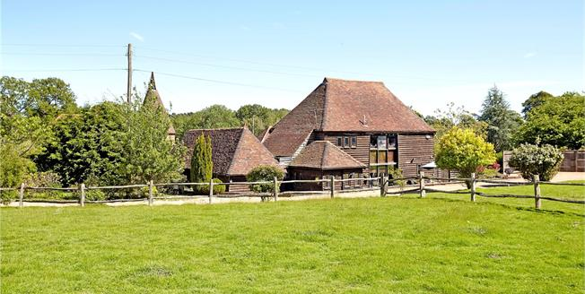 Guide Price £1,000,000, 4 Bedroom Detached House For Sale in East Sussex, TN3