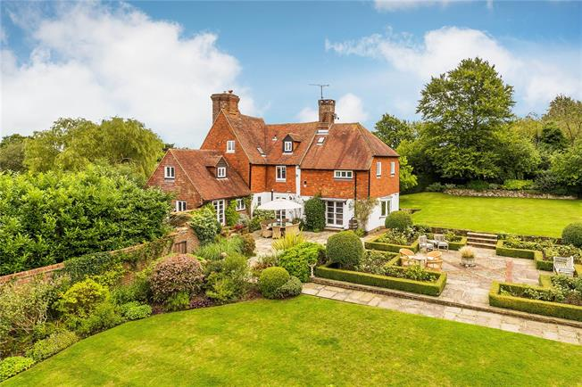 Asking Price £1,695,000, 5 Bedroom Detached House For Sale in Langton Green, TN3
