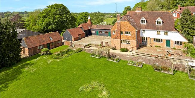Asking Price £1,250,000, 6 Bedroom Detached House For Sale in Wadhurst, TN5