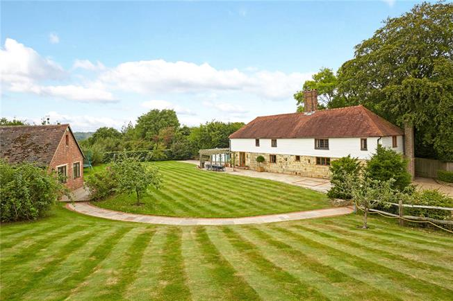 Asking Price £1,200,000, 5 Bedroom Detached House For Sale in East Sussex, TN6