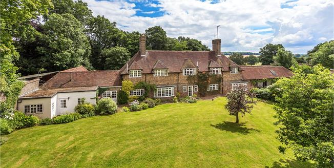 Guide Price £2,250,000, 6 Bedroom Detached House For Sale in East Sussex, TN7