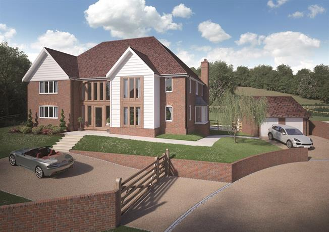 Asking Price £1,950,000, 5 Bedroom Detached House For Sale in Bidborough, TN3