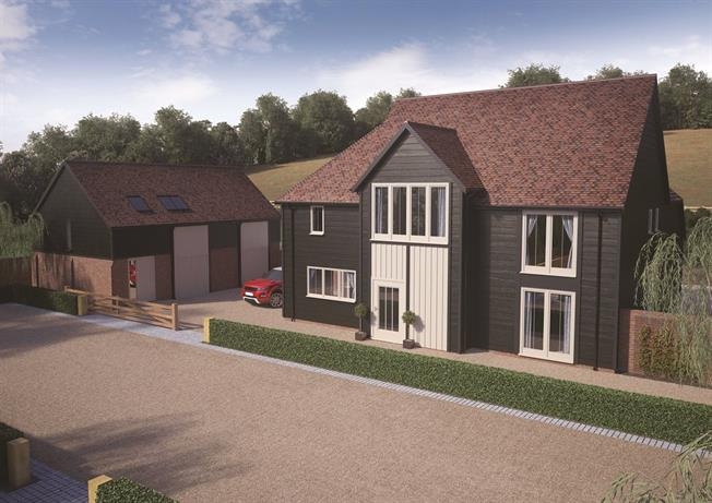 Asking Price £1,595,000, 5 Bedroom Detached House For Sale in Bidborough, TN3