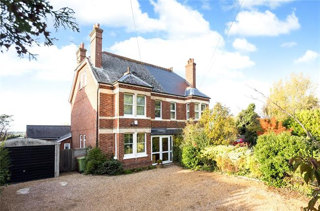 Offers in excess of £800,000, 5 Bedroom Semi Detached House For Sale in Horsmonden, TN12