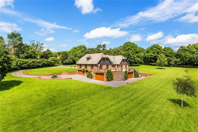 Guide Price £2,150,000, 5 Bedroom Detached House For Sale in Mayfield, TN20