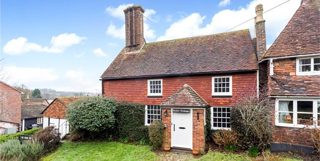 Offers in the region of £599,950, 2 Bedroom Detached House For Sale in Lamberhurst, TN3