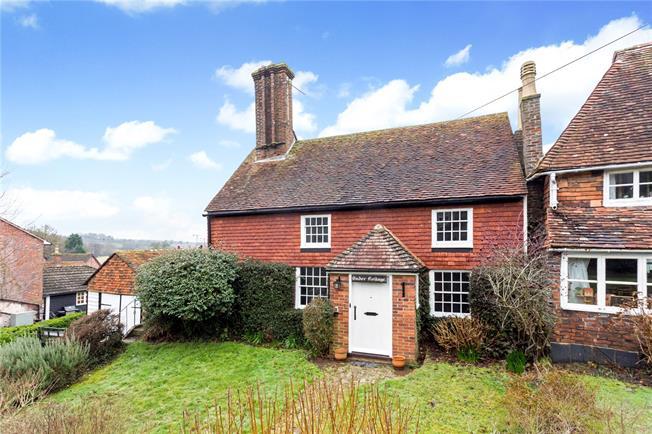 Offers in the region of £599,950, 2 Bedroom Detached House For Sale in Lamberhurst, TN3
