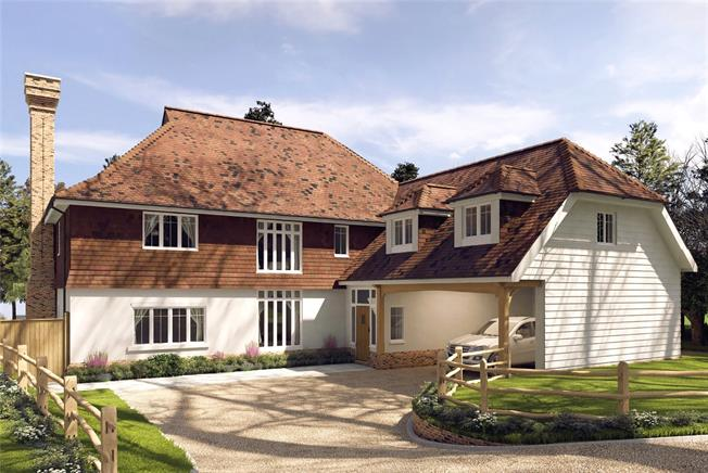 Asking Price £1,445,000, 5 Bedroom Detached House For Sale in Wadhurst, East Sussex, TN5