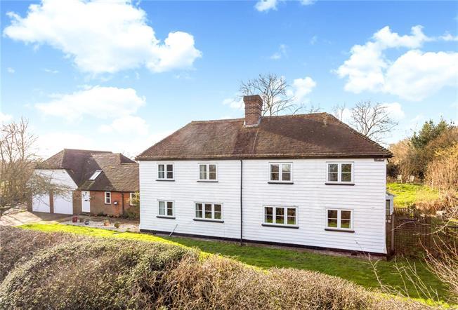 Asking Price £1,095,000, 4 Bedroom Detached House For Sale in Tunbridge Wells, East Sus, TN3