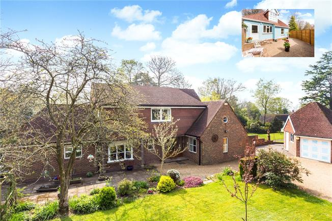 Guide Price £1,000,000, 5 Bedroom Detached House For Sale in Mayfield, TN20