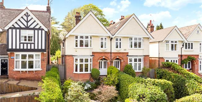 Guide Price £950,000, 4 Bedroom Semi Detached House For Sale in Tunbridge Wells, TN2