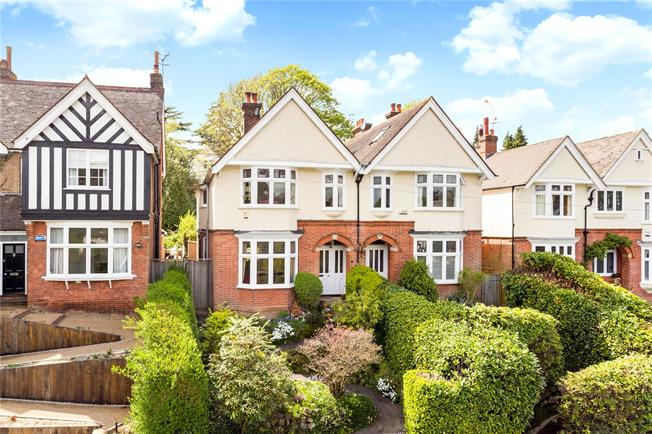 Guide Price £900,000, 4 Bedroom Semi Detached House For Sale in Tunbridge Wells, TN2