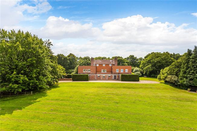 Guide Price £2,000,000, 5 Bedroom Detached House For Sale in Colemans Hatch, TN7