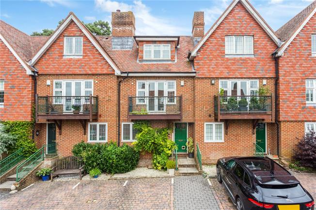 Asking Price £475,000, 3 Bedroom Terraced House For Sale in Frant, TN3