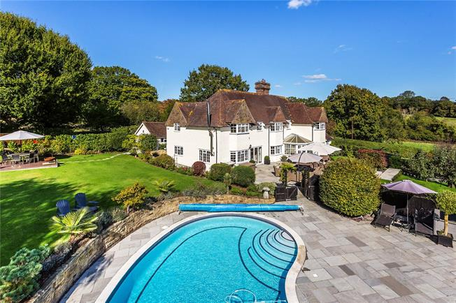 Guide Price £1,695,000, 6 Bedroom Detached House For Sale in Five Ashes, TN20