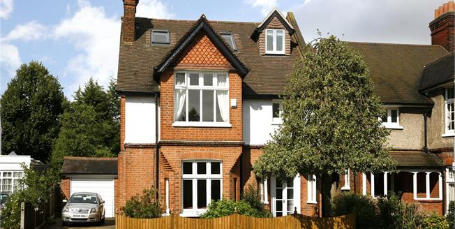 Guide Price £1,500,000, 4 Bedroom Detached House For Sale in London, SW19